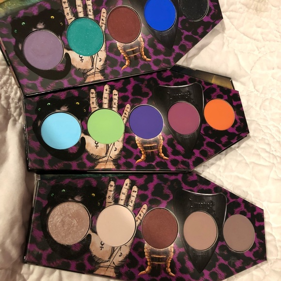 Lunatick Cosmetics Eyeshadow Palettes (Lot)